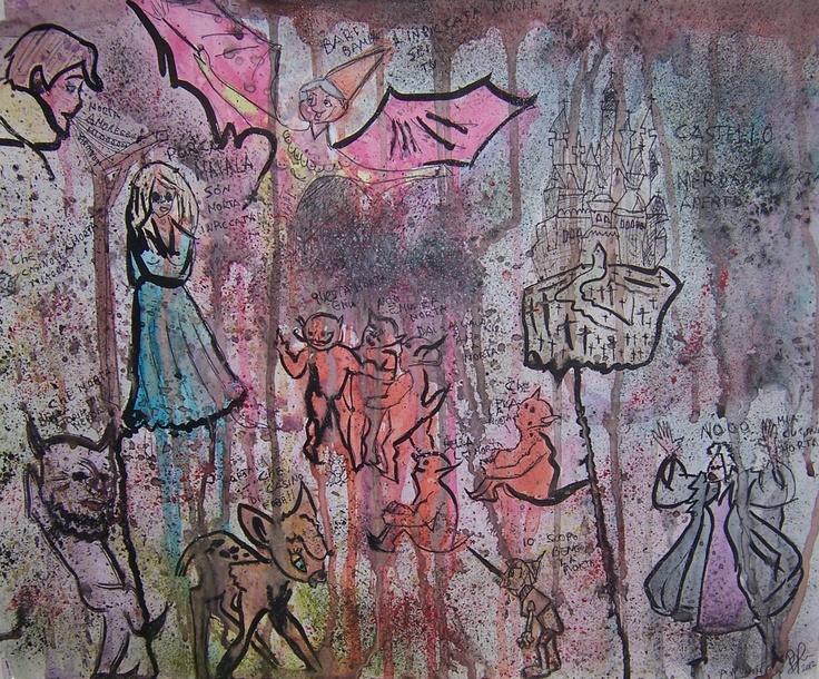 """Sunday Bloody Sunday""   Watercolor"