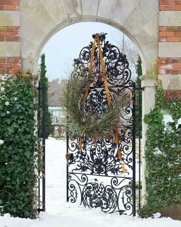 Westbury Gardens Winter: ♔ Artistic Iron Works ♔