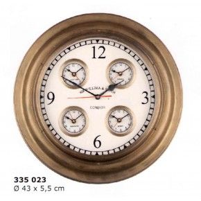 Reloj mundial con 5 esferas