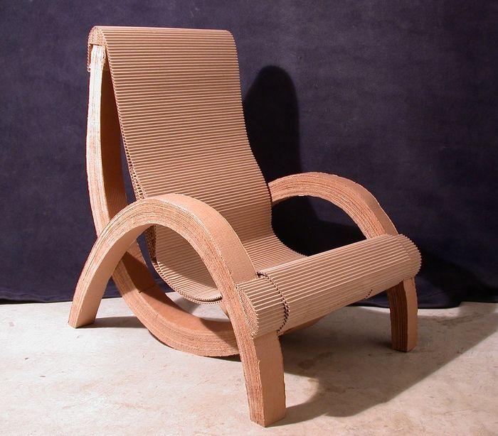 Corrugated Cardboard Chair