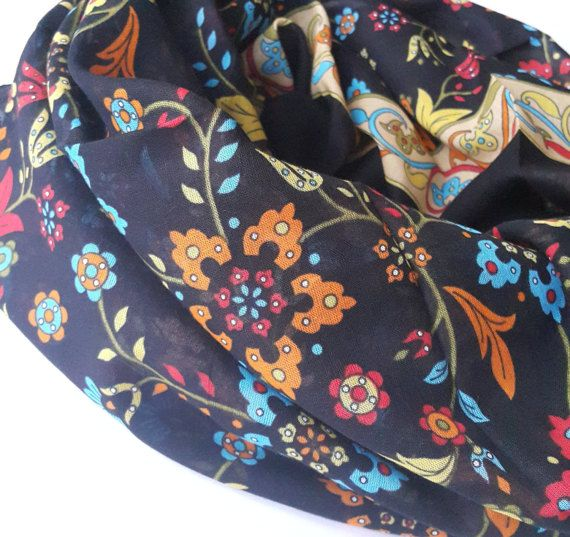 Check out this item in my Etsy shop https://www.etsy.com/listing/459817496/black-floral-cotton-turkish-scarf-large