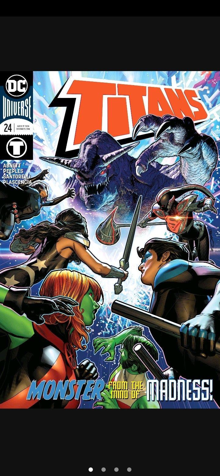 Pin Em Teen Titans