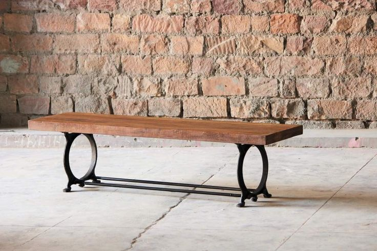 Industrial Upcycled Dining Bench Hyatt Canning (2)