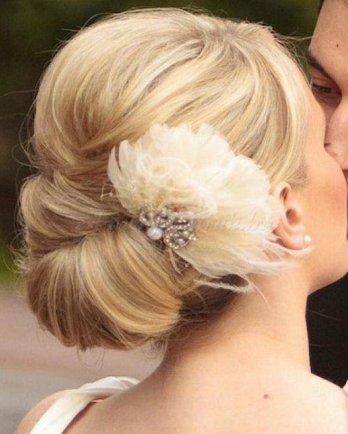esküvői kontyok - esküvői konty