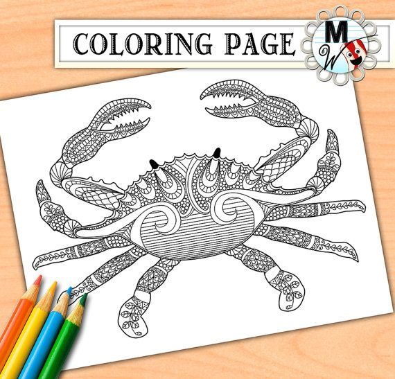 Nautical Coloring Pages For Adults : Best images about zentangle on pinterest tropical