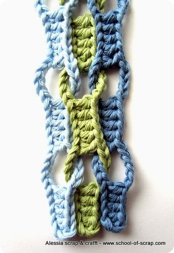 Crotchet Wave Stitch Tutorial - This pattern makes a beautiful  scarf