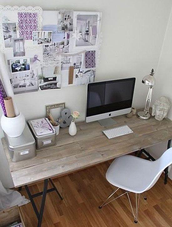 Office inspiration: pretty purples