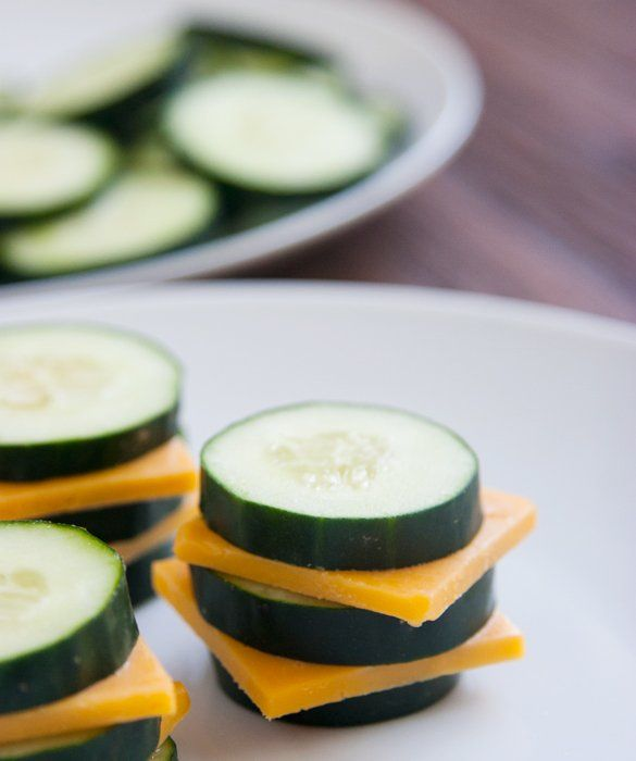 Cheese & Cucumbers: 20 Healthy Snacks - mom.me