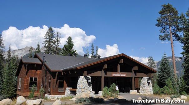 The main building at family-friendly Wuksachi Lodge - my review http://www.travelswithbaby.com/planning/review-sequoia-wuksachi-lodge.htm