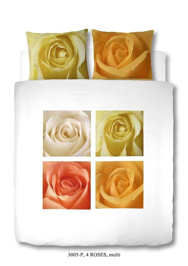 Home Style Dekbedovertrek roses 3005 multi