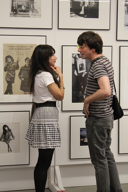 Graham Coxon drops by for the entertainment and the psychedelic posters, via Flickr.