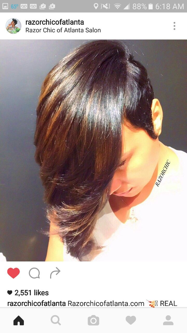 113 best hair affairs images on pinterest hairstyles black extension ideas hair cuts hair inspiration razor chic short hair styles shorter hair asymmetric bob hairstyles beauty marks pmusecretfo Gallery
