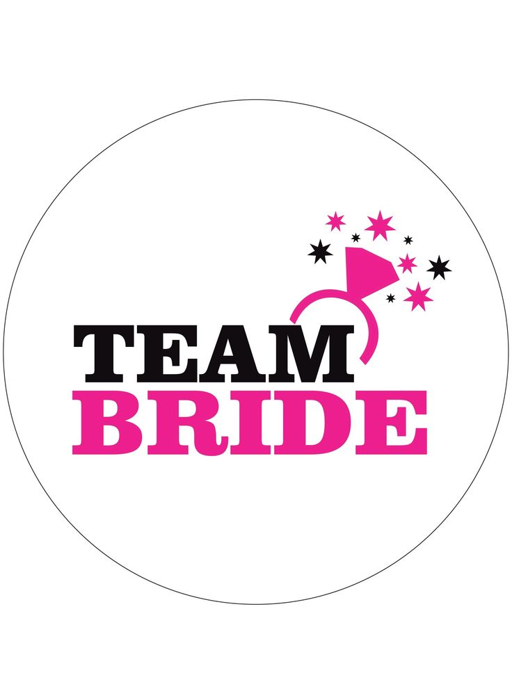 """Team Bride"""" Hen Party Personalised Badges FREE HEN PARTY"""