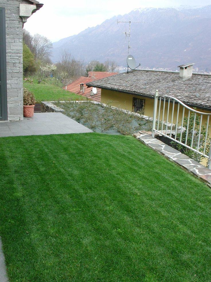 Impianto di subirrigazione - Lago d'Orta