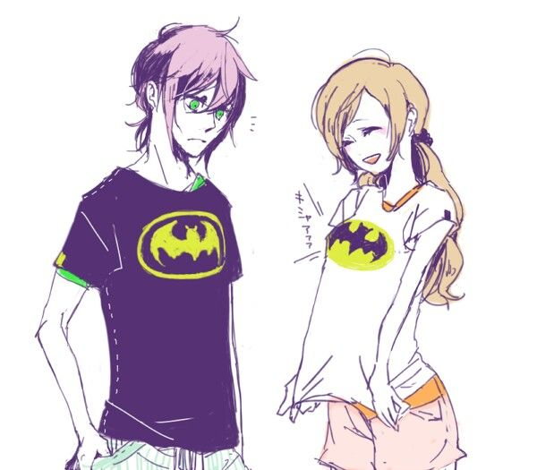 Batman Ulquiorra and Orihime