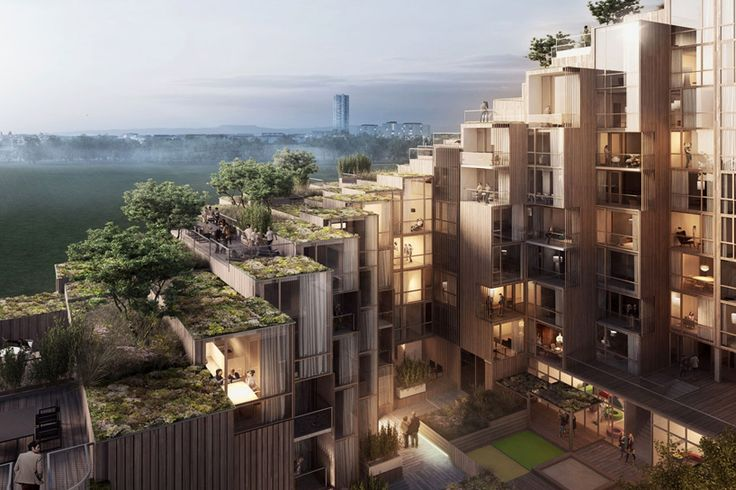 Step by Green-Roofed Step: Terraced Apartment Tower Offers Outdoor Space | Designs & Ideas on Dornob