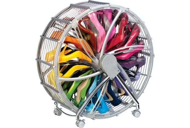 Shoe Wheel Organizer with Dust Cover
