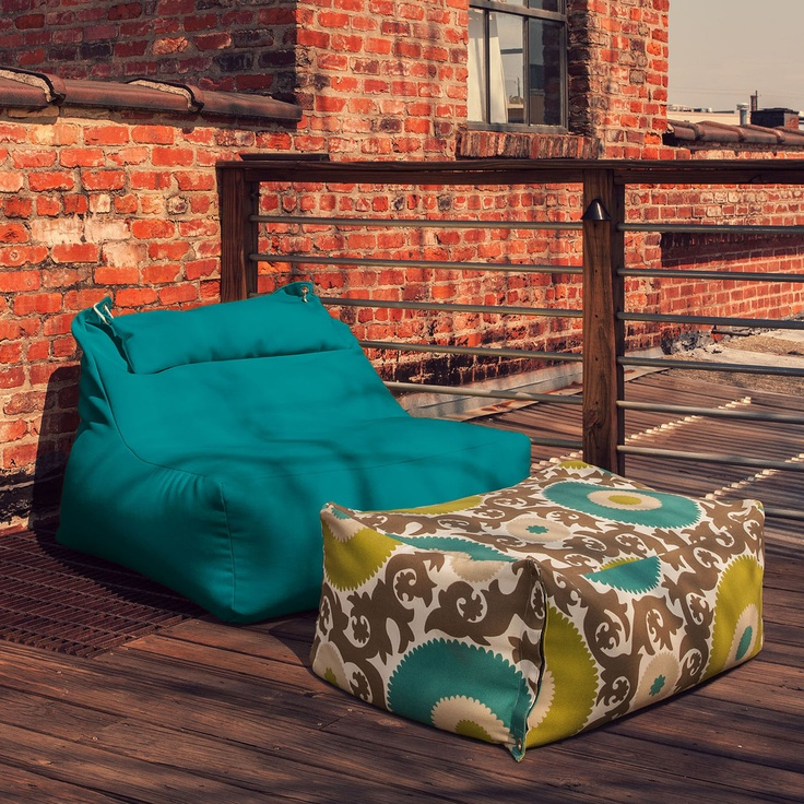 Ponce Lounger Aqua » Great for stargazing!