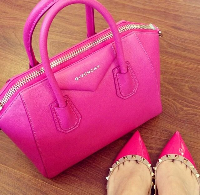 64f821e7f5fb Hot Pink Handbags Designer - Mc Luggage