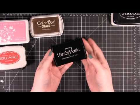 Beginner Stamping Series - Types of Ink & When to Use Them  Simon Says Stamp (Kristina Werner)