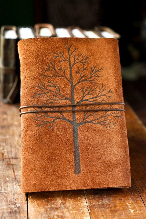 Leather Journal - Autumn - BEAUTIFUL