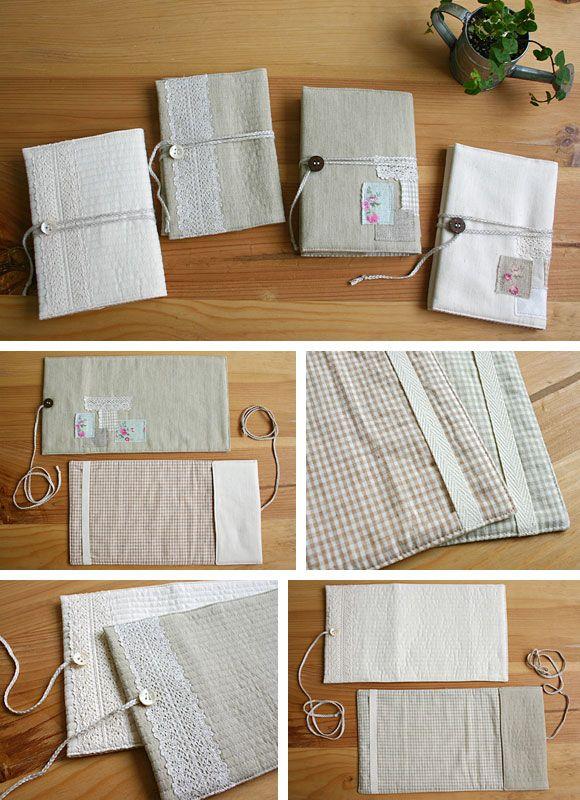 手作り雑貨の作り方 | スタジオクリップ > ブックカバーの作り方
