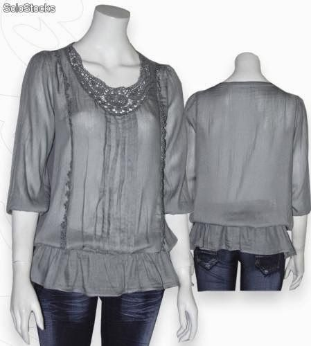 blusa-escote-redondo-con-pasamaneria-6322065z0.jpg (449×500)