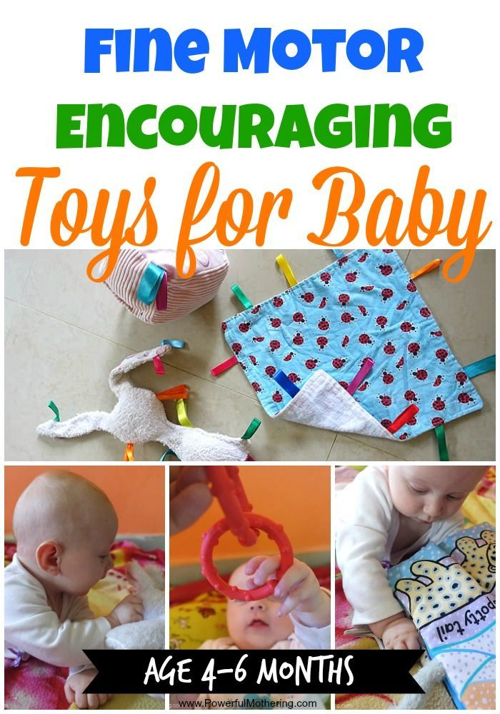 Fine Motor Encouraging Toys for Baby! 4-6 months old - great collection