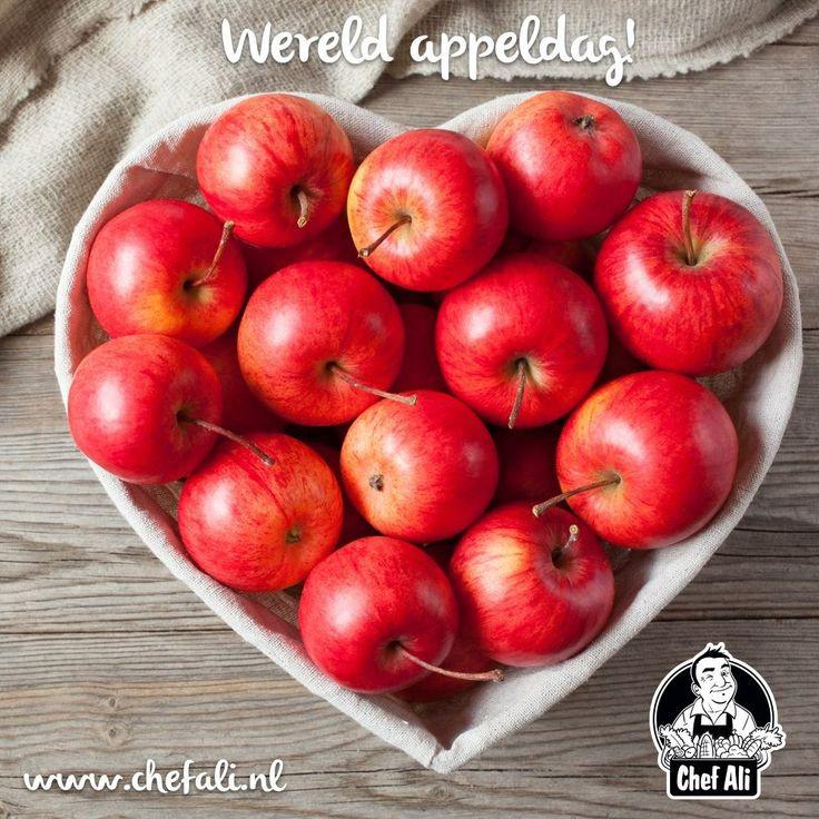 Vandaag wordt het bestaan van appels gevierd! Wij houden van appels omdat je er van alles mee kunt. Hoe eet jij je appels het liefst?