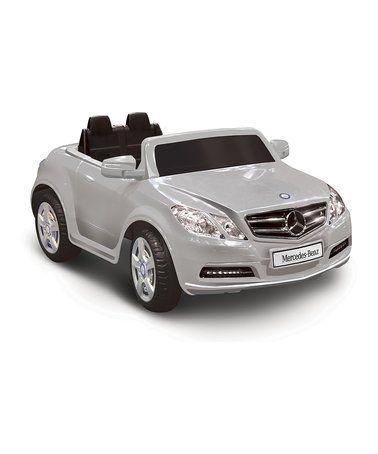 Look what I found on #zulily! Silver Mercedes-Benz E550 Ride-On #zulilyfinds