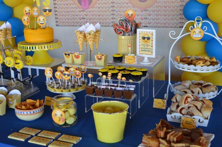Festa Emojis, Smiles, emoticons ou smiley