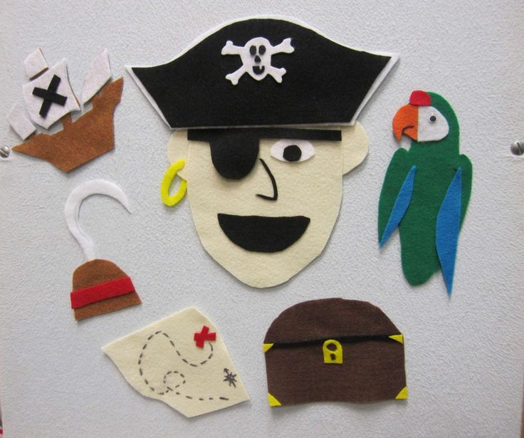 "Pirate Flannel Board and Pirate Song sung to ""This Old Man"""