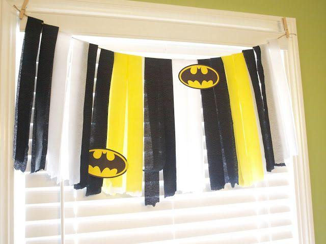 the Mathews Family Happenings: Batman party