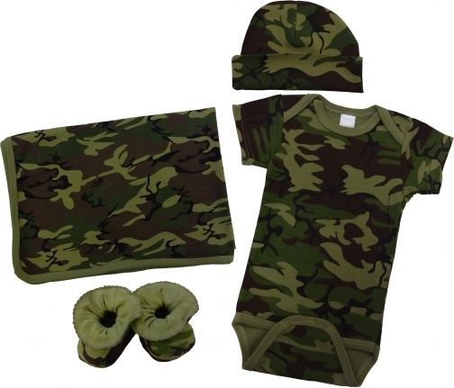 Gorgeous newborn baby camo clothes