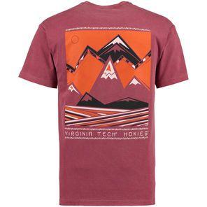 Virginia Tech Hokies Scenic Comfort Colors T-Shirt - Maroon More