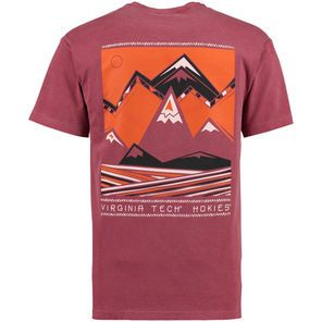 Virginia Tech Hokies Scenic Comfort Colors T-Shirt - Maroon                                                                                                                                                                                 More