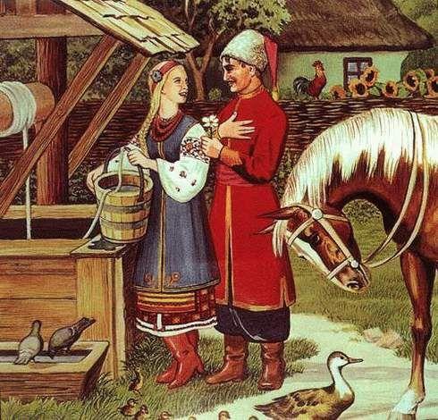Несе Галя воду - народный фольклор