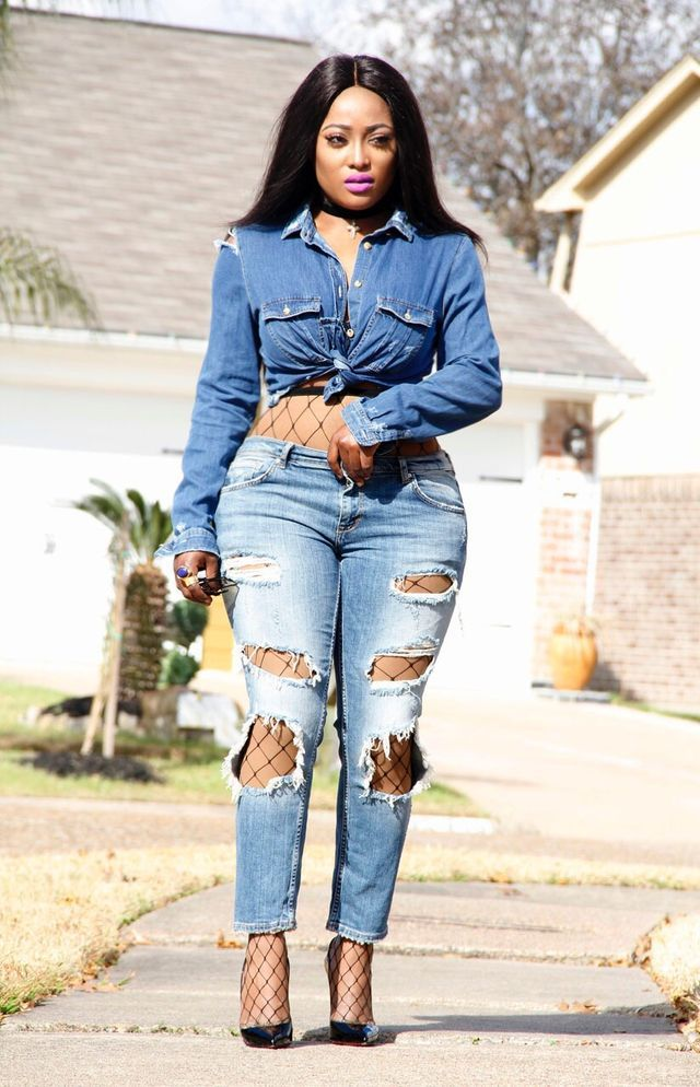 The 25+ best Fish net jeans ideas on Pinterest