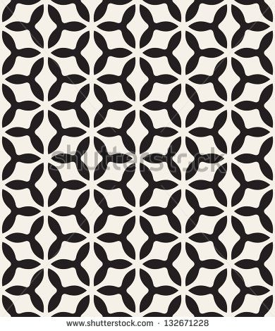 Seamless Pattern Modern Stylish Texture Repeating