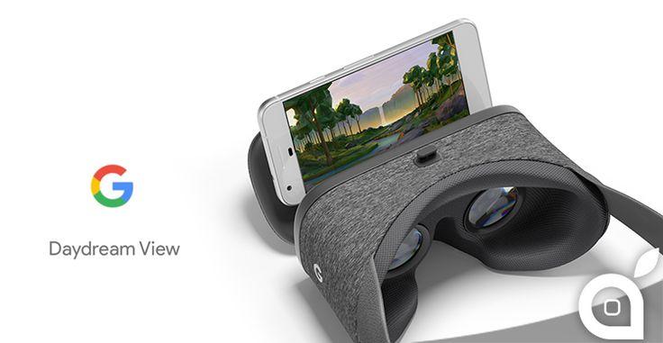 Google presenta Daydream View il nuovo visore per la Realtà Virtuale di alta qualità [Video]