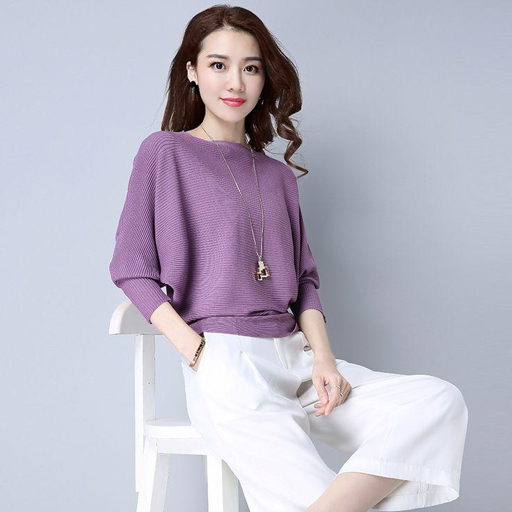 2017 tee shirt femme fashion Slash neck women casual loose bat sleeve Ice silk T-shirt winter tops plus size women t shirt