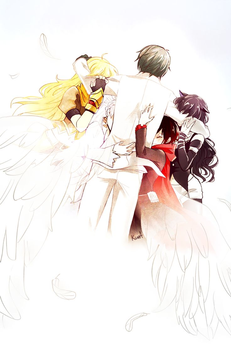 Tags: Fanart, Pixiv, PNG Conversion, Fanart From Pixiv, Rooster Teeth, RWBY, Ruby Rose, Weiss Schnee, Blake Belladonna, Yang Xiao Long, Pixiv Id 4068468