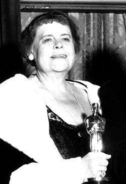 "1930/1931 MARIE DRESSLER best actress Oscar winner for her work in ""Min and Bill"""