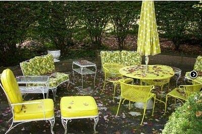 vintage wrought iron patio furniture   Garden Furniture – Bringing the indoors out   Houseinventory's Blog