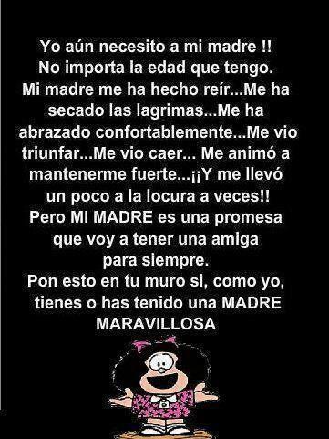 A mi Madre!!!!!