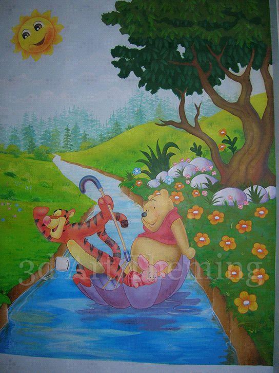 ζωγραφική σε παιδικά δωμάτια