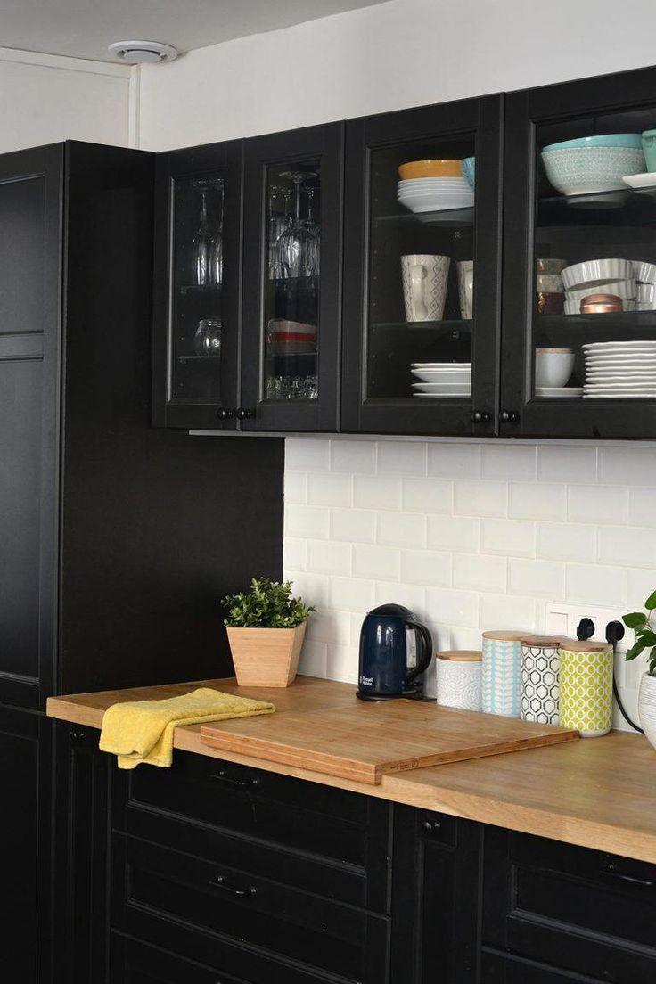 avant apr s transformation de la cuisine. Black Bedroom Furniture Sets. Home Design Ideas