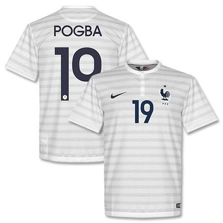competitive price 6b255 995b4 2014 world cup france 19 pogba home soccer shirt kit