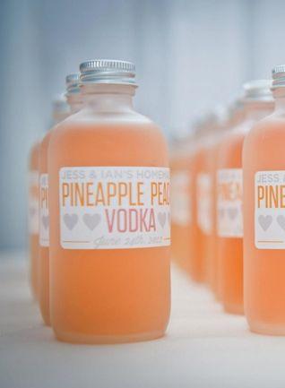 Pineapple peach vodka