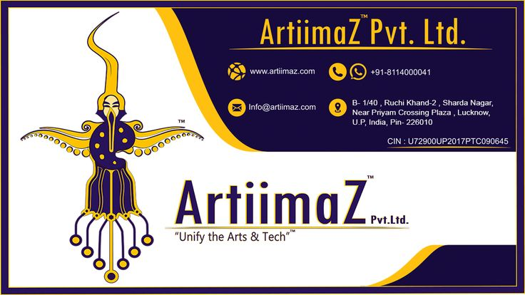 ArtiimaZ ™ Pvt. Ltd. #artiimaz #art #creativity  #company #it #services #advertising #marketing #unify #tech #contact #info
